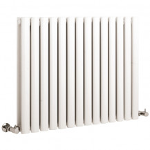 Hudson Reed Revive Double Panel Designer Radiator High Gloss White 635x826 mm