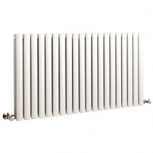 Hudson Reed Revive Double Panel Designer Radiator High Gloss White 633x1180 mm
