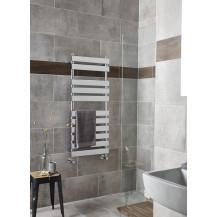 Hudson Reed Piazza Piazza Heated Towel Rail Chrome 1200x500
