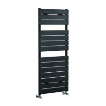 Hudson Reed Flat Panel Heated Towel Rail 1213x500 Anthracite