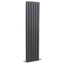 Hudson Reed Revive Double Panel Designer Radiator Anthracite 1500x354 mm