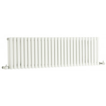 Hudson Reed Refresh Double Panel Designer Radiator High Gloss White 300x1064