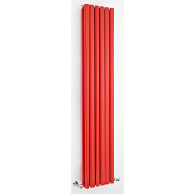 Hudson Reed Revive Double Panel Designer Radiator High Gloss Red 1800x354 mm