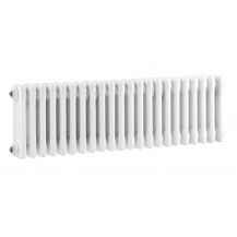 Hudson Reed Colosseum Triple Column Traditional Radiator High Gloss White 300x1011