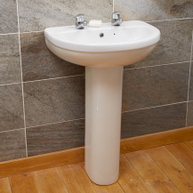 Impressions 2 Tap Hole Basin & Pedestal