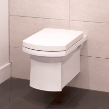 Isobelle Wall Mounted Toilet and Soft Close Seat