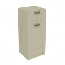 Nottingham Ivory Single Door & Drawer Storage Unit
