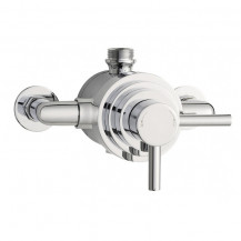 Hudson Reed Tec Dual Exposed Thermostatic Shower Valve