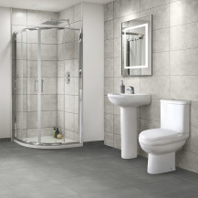 Micro Juno 800 x 800 Shower Enclosure and Tray Suite