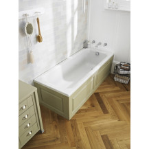 Hudson Reed Ascott 1700 x 750 straight bath with Eternalite