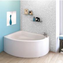 Cadenza 1495x950 Left Hand Corner Bath  with Legset