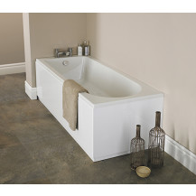 Alton 1700 x 750 single ended round bath with Bettacast