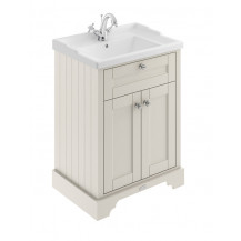 Hudson Reed Old London Timeless Sand 600mm One Tap Hole Vanity Unit