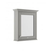 Hudson Reed Old London Storm Grey 600mm Mirror Cabinet