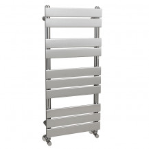 Lorenzo Beta Heat 1000 x 450mm Flat Chrome Heated Towel Rail