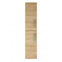 Premier Athena Natural Oak 300mm Tall Unit (2 Door)