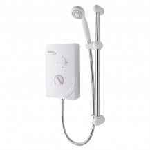 MX Options Solo QI White 8.5kW Electric Shower