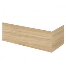 Premier Athena Natural Oak 700mm Bath End Panel