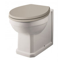 Hudson Reed Richmond Back To Wall Toilet without Seat