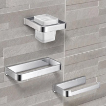 Avant 3 Piece Premium Bathroom Accessory Pack