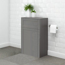 Nottingham 500mm Grey WC Unit