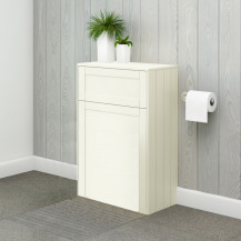 Nottingham 500mm Ivory WC Unit
