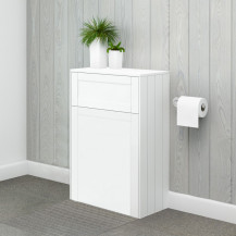 Nottingham 500mm White WC Unit
