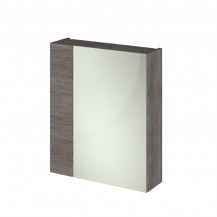 Austin Grey Avola 600mm Mirror Unit (75/25)