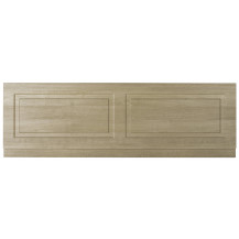 Premier York Gladstone Oak 1800mm Bath Front Panel