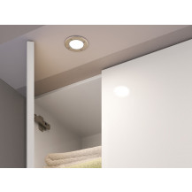 Hudson Reed Orca Surface/Recessed Cabinet Cold Light IP44