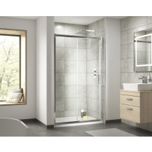 Premier Pacific 1400mm Reversible 6mm Single Sliding Door