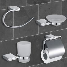 Cubera 4 Piece Bathroom Accessory Pack