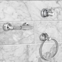 Monza 3 Piece Bathroom Accessory Pack