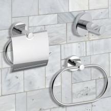 Roco 3 Piece Bathroom Accessory Pack
