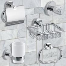 Roco 5 Piece Bathroom Accessory Pack