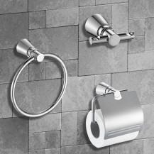 Capri 3 Piece Bathroom Accessory Pack