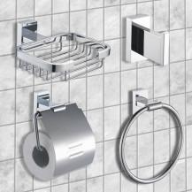 Novara Bathroom Accessory Pack
