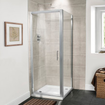 Aquafloe™ Premium 6mm 760 Pivot Shower Enclosure