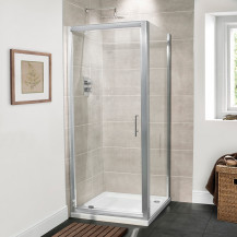 Aquafloe™ Premium 6mm 800 Pivot Shower Enclosure