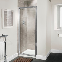 Aquafloe™ Premium 6mm 700 Pivot Shower Door