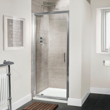 Aquafloe™ Premium 6mm 900 Pivot Shower Door
