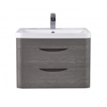 Premier Eclipse Wall Hung 600mm Cabinet & Basin