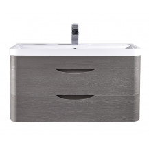 Premier Eclipse Wall Hung 800mm Cabinet & Basin