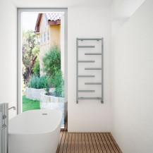 Prato 1100 x 500 Aluminium Towel Rail