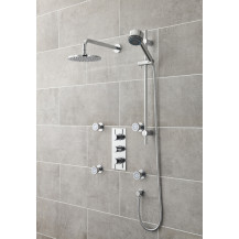 Premier Quest Triple Thermostatic Shower Valve With Diverter