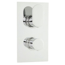 Hudson Reed Reign Twin Themostatic Shower Valve