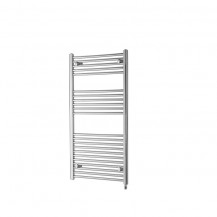 Basilicata Electric 691 x 600 Chrome Towel Rail