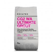 Rocatex CG2 WA Ultimate Dark Brown 5kg Grout Bag