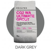 Rocatex CG2 WA Ultimate Dark Grey 5kg Grout Bag