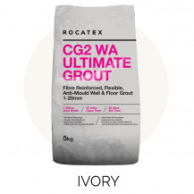 Rocatex CG2 WA Ultimate Ivory 5kg Grout Bag